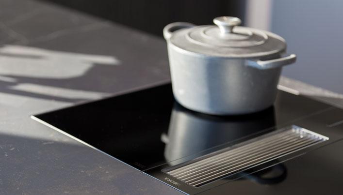 BORA Classic kookplaat met afzuiging | Satink Keukens