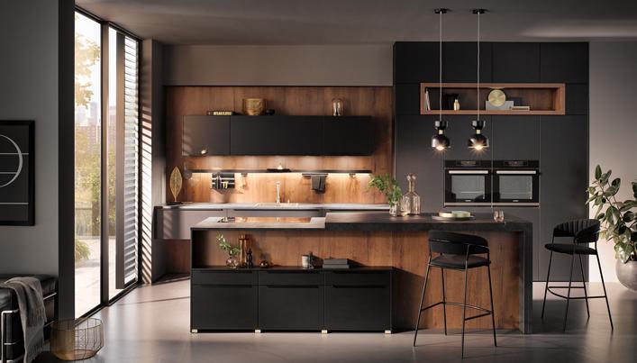 Een donkere keuken in 2020