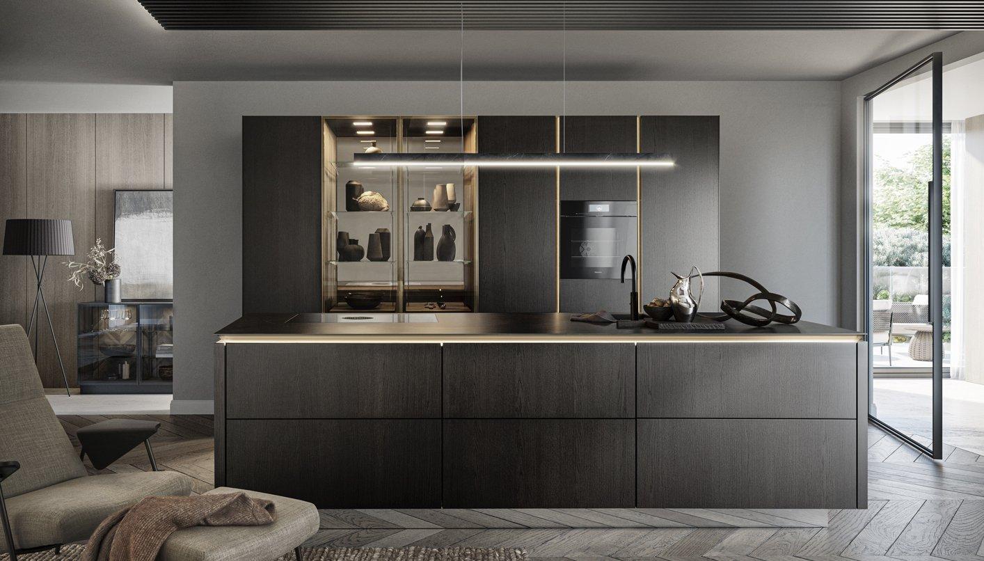 SieMatic SLX Pure keuken | Keuken showroom Satink Keukens
