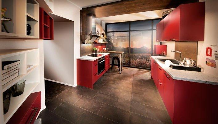 Rode Satink Keukens