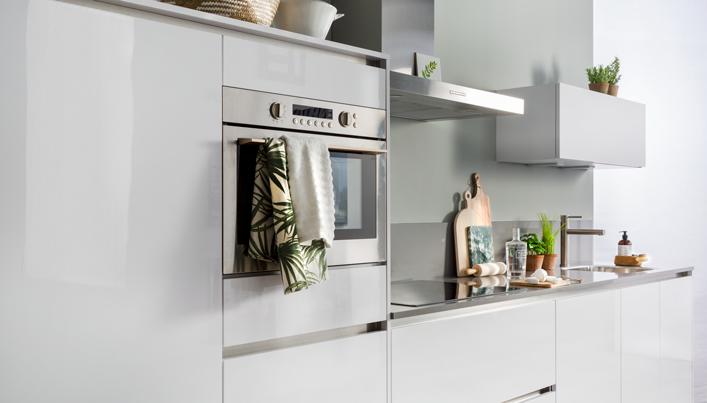 Witte ECOOK keuken | Satink Keukens